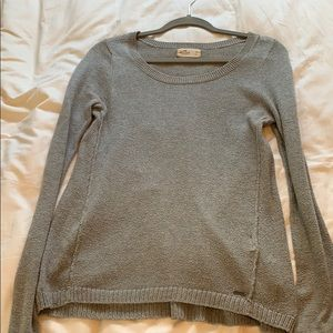 Grey Soft Long Sweater
